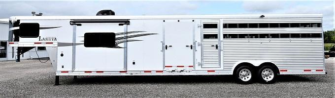 2019 Lakota Charger Stock Combo w/11' LQ Horse Trailer