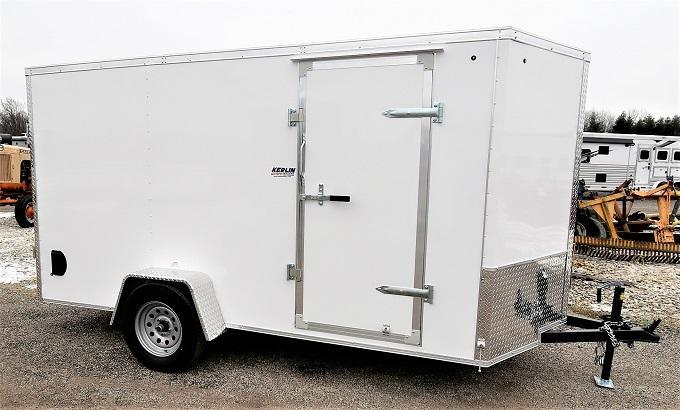 2021 Spartan Cargo 6X12SA Enclosed Cargo Trailer