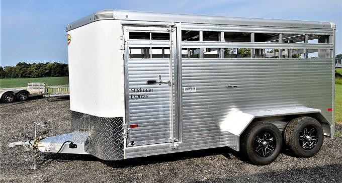2022 Sundowner Trailers Stockman Express 16' Livestock Trailer