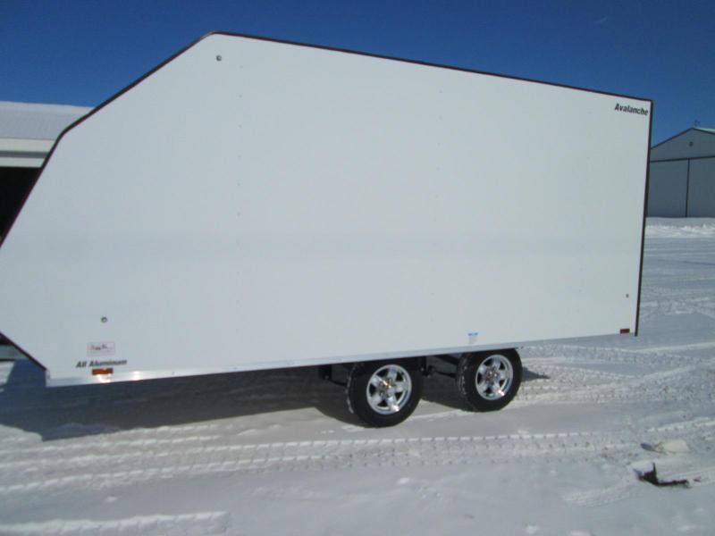 2021 Lightning Trailers LTA813TA Snowmobile Trailer