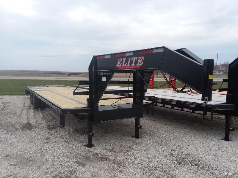2020 Elite Trailers Elite 33TDGN Equipment Trailer