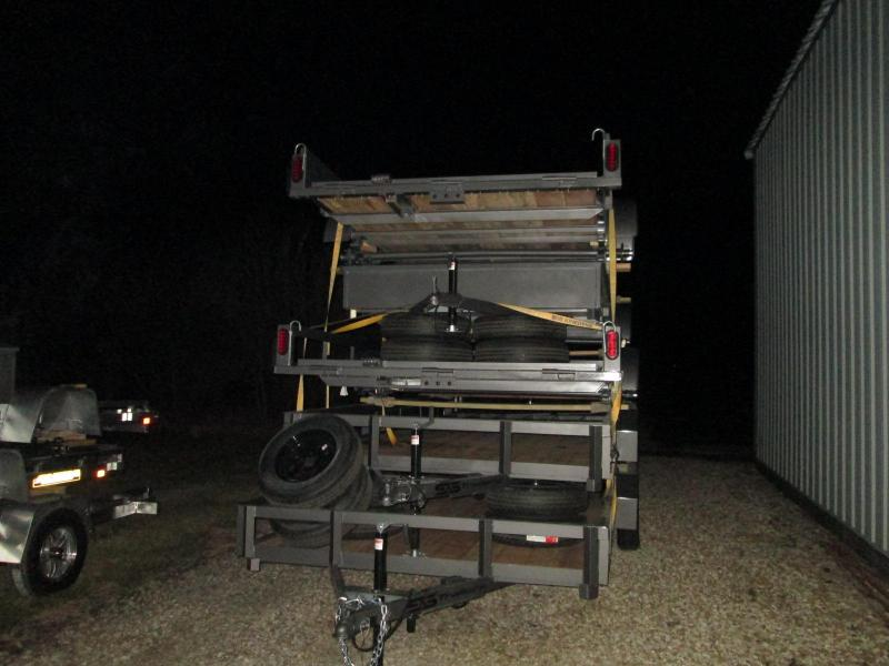 2021 S&S Manufacturing 82X14 Utility Utility Trailer
