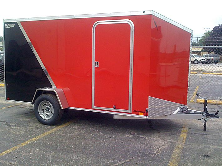 2021 Lightning Trailers LTF610SA Enclosed Cargo Trailer