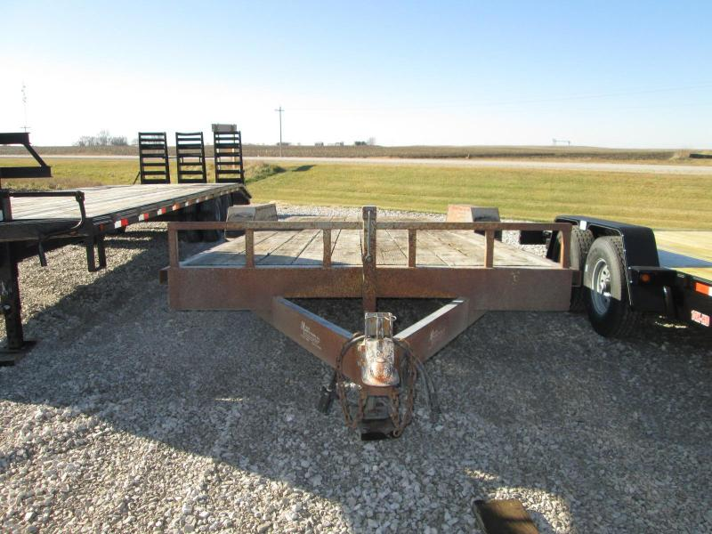 1998 Other Maurer 18' Tandem Axle Equipment Trailer