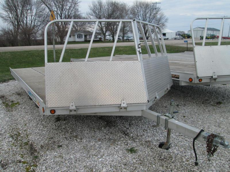 2003 Aluma 8614 Snowmobile Trailer 3-Place