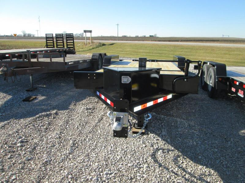 2020 B-B TBCT2214ET Partial Gravity Tilt Trailer