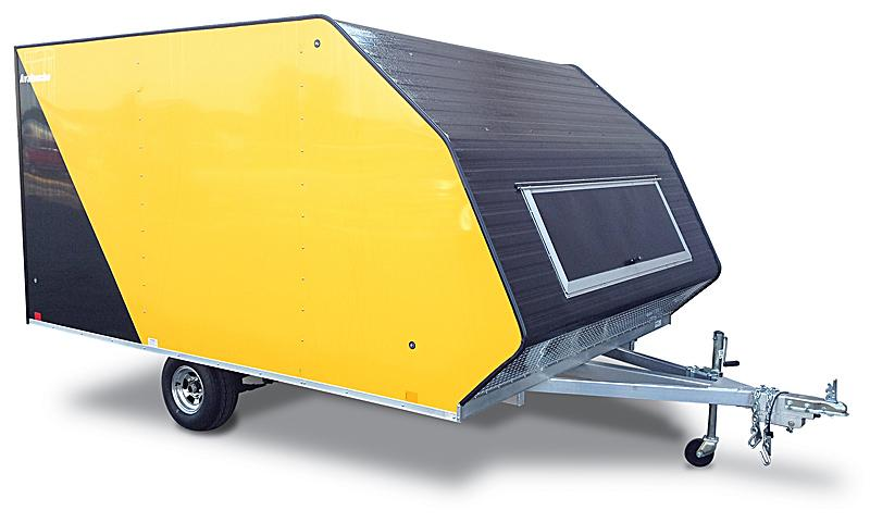 2021 Lightning Trailers LTA813TA Snowmobile Trailer
