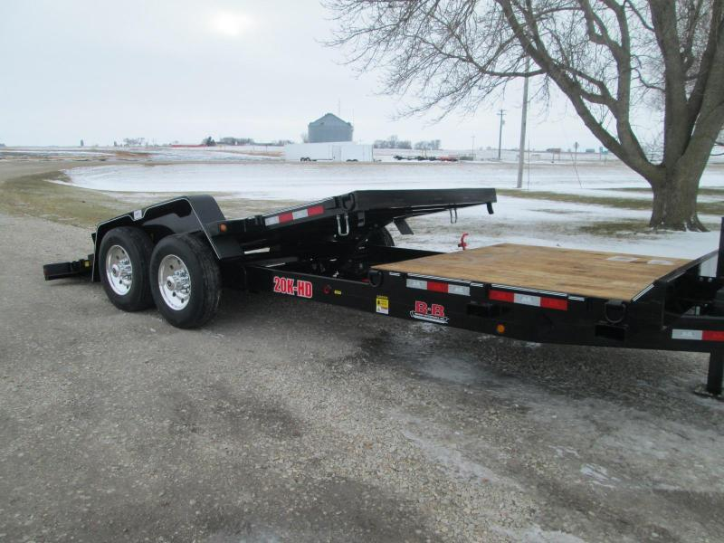 2021 B-B TBCT2220ET Equipment Trailer