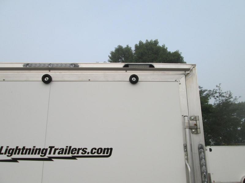 2020 Lightning Trailers LTFES714TA2 Snowmobile Trailer