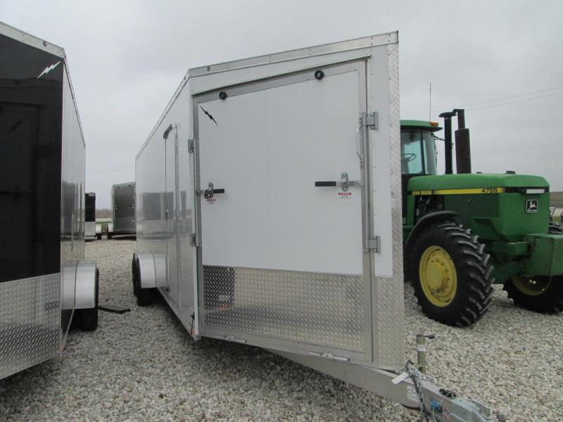 2021 Lightning Trailers LTFES724TA2 Snowmobile Trailer