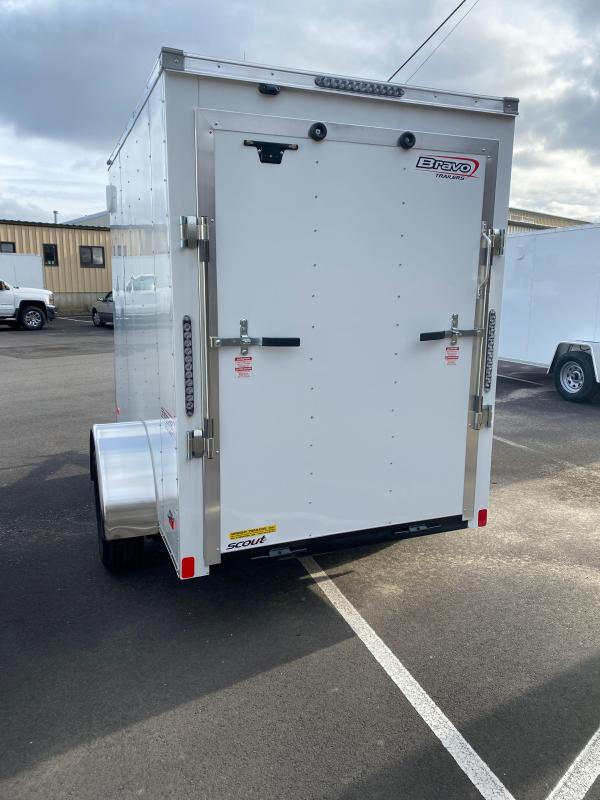 2021 Bravo Trailers SC58SA Enclosed Cargo Trailer