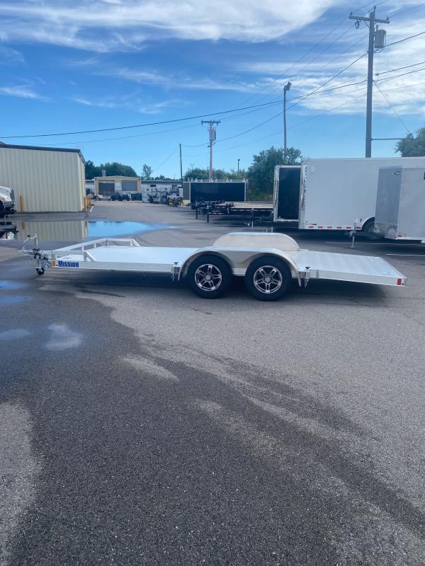 "2021 Mission 80""X18' Car / Racing Trailer"