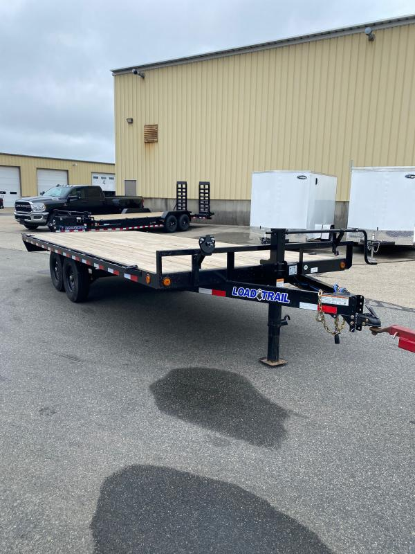 """2021 LOAD TRAIL 102"""" X 20' DECK OVER PINTLE HOOK"""