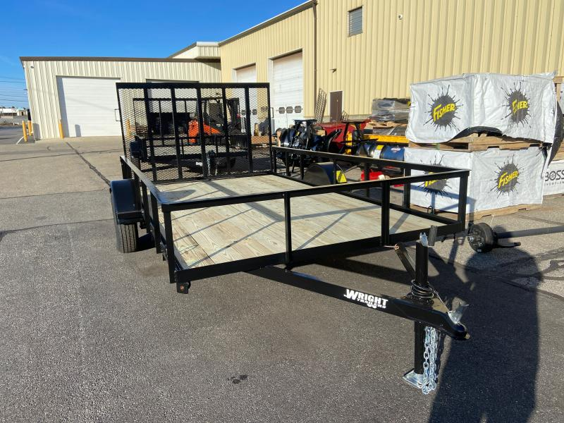 2021 Wright WT121UT Utility Trailer