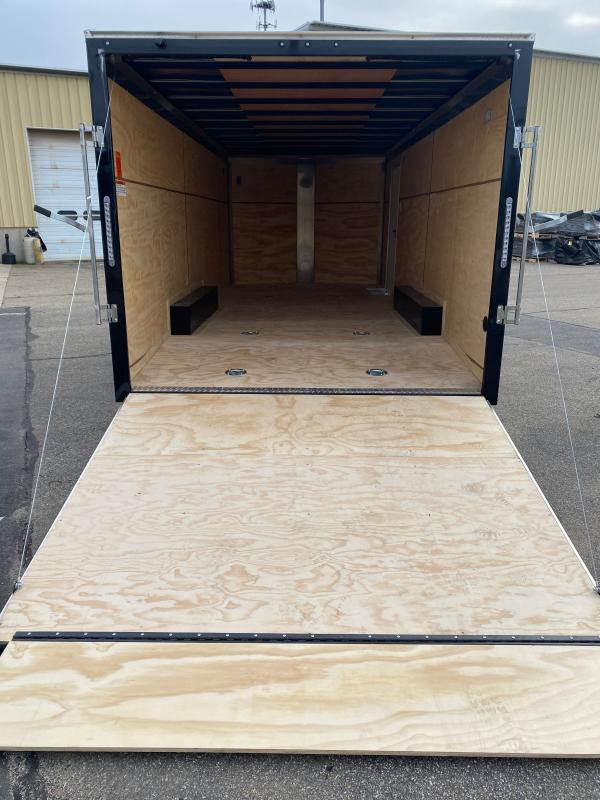 "2021 ITI 102""X20' WEDGE FRONT Enclosed Cargo Trailer"