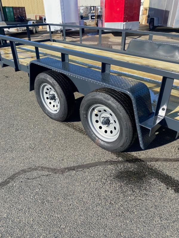 2021 Wright WT182LS Equipment Trailer