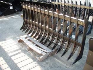 Skid Steer Root Rake