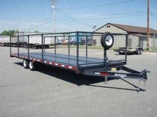 Wright Porta-Potty Transport Trailer