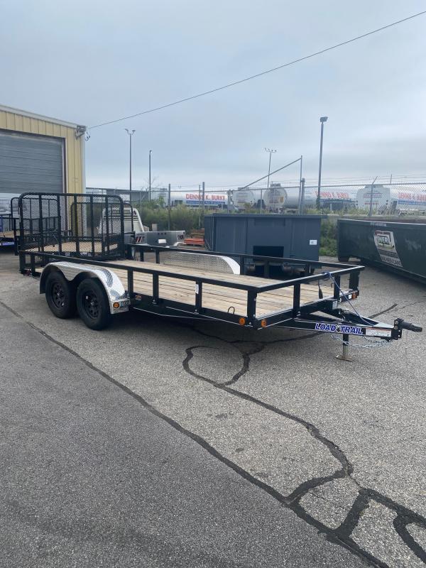 "2021 Load Trail 83"" X 16' Tanden Axle Utility Trailer"