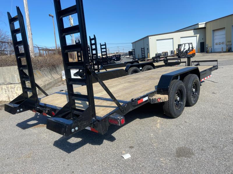 2021 Iron Bull ETB8320 Equipment Trailer
