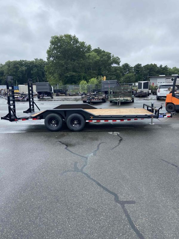 """2021 LOAD TRAIL 102"""" X 18' TANDEM AXLE EQUIPMENT TRAILER DRIVE OVER FENDERS"""