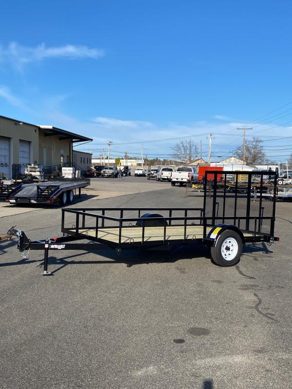 2021 Wright WT121LS Utility Trailer