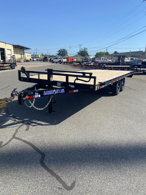 "2021 LOAD TRAIL 102""X20' DECKOVER TRAILER 14000# GVWR"