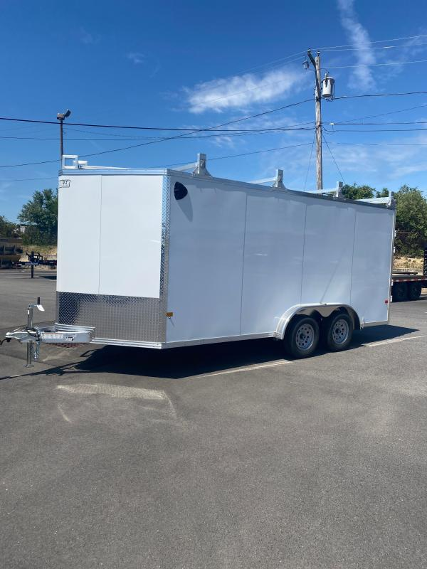2021 EZ Hauler 7.5' X 16' Ultimate Contractor Enclosed Cargo Trailer