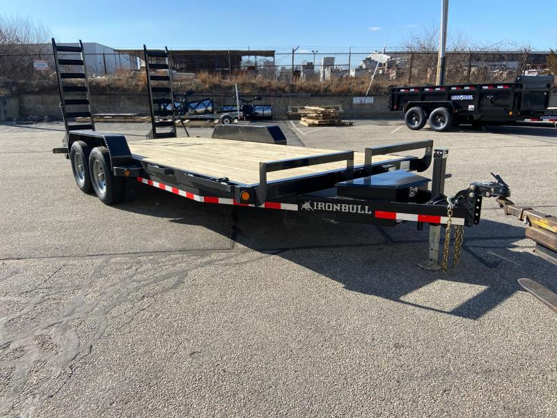 "2021 Iron Bull 83"" X 18' Equipment Trailer"