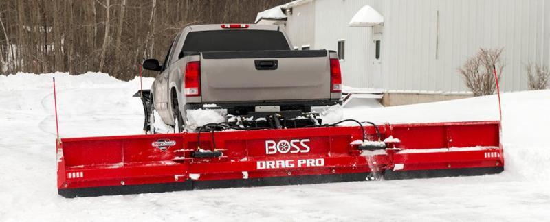 BOSS Drag Pro Back Plow 8' - 16'