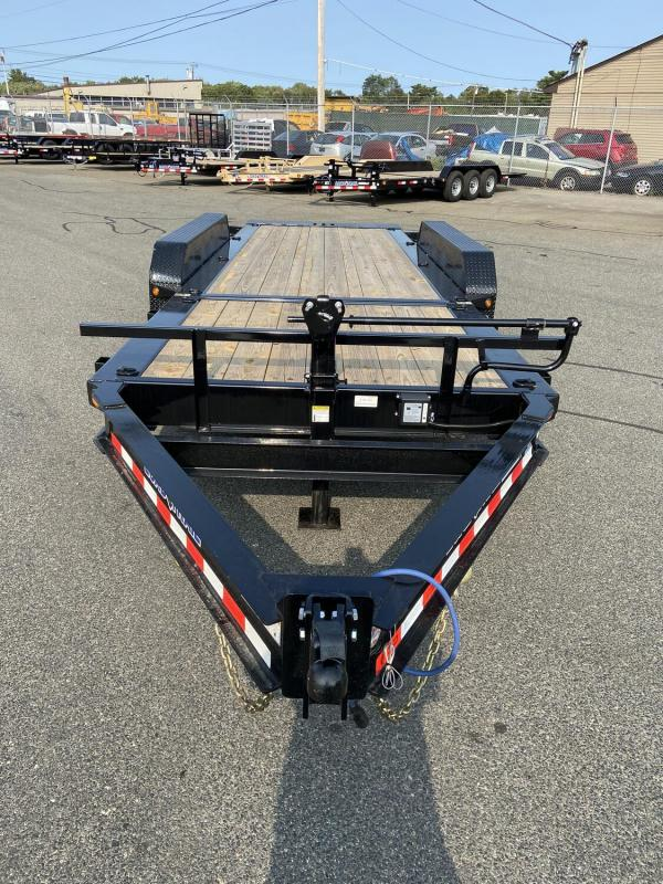 "2021 Load Trail 83"" x 22' 21000# Tilt Deck Trailer 16' Tilt + 6' Stationary"