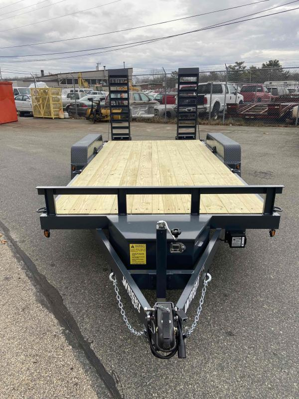"2021 Wright 82""x16' Equipment Trailer"