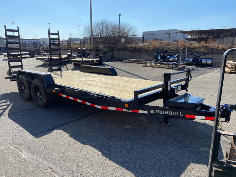 2021 Iron Bull ETB8318 Equipment Trailer