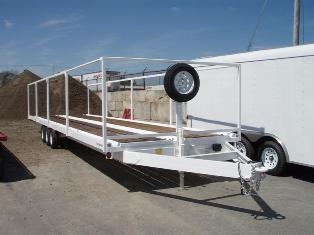 Wright Porta-Potty Trailer