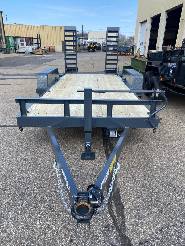 "2021 Wright 81""X16' Equipment Trailer"