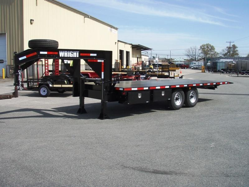 Wright Gooseneck Tilt trailer