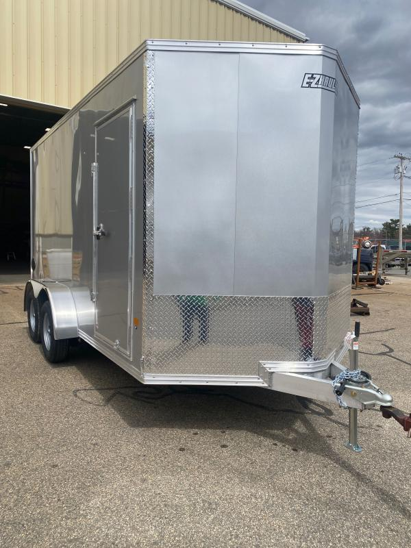 2021 EZ Hauler EZEC7'X16' Aluminum Enclosed Cargo Trailer