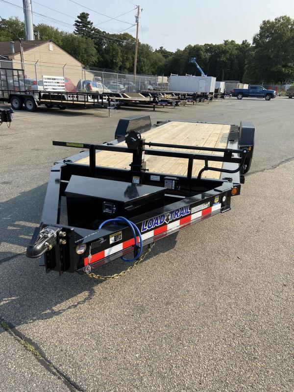 "2021 Load Trail 83"" x 20' 14000# Tilt Deck Trailer 16' Tilt 4' Stationary"