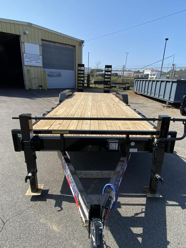 "2021 Load Trailer 83"" x 24' 14000# Equipment Hauler Trailer"