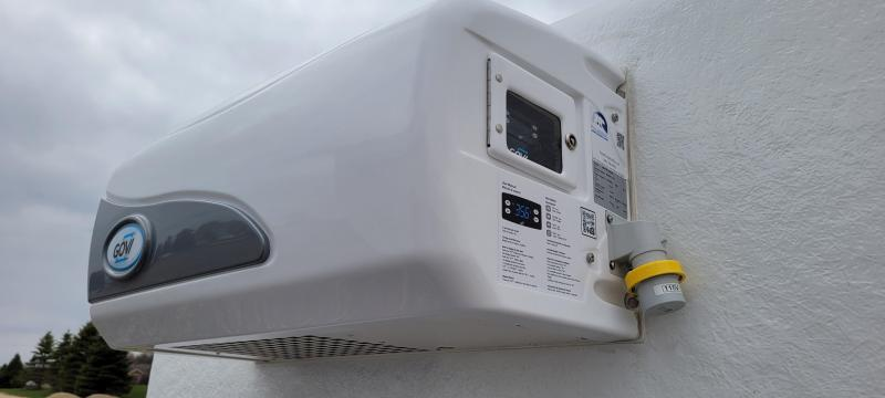 2021 Polar King PKM616 6x16 Refrigerated Vending Trailer