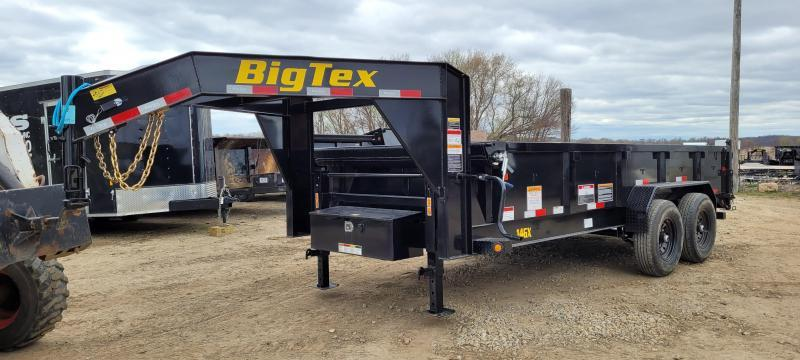 2022 Big Tex Trailers 14GX-16 14K 16 ft. Gooseneck Dump Trailer