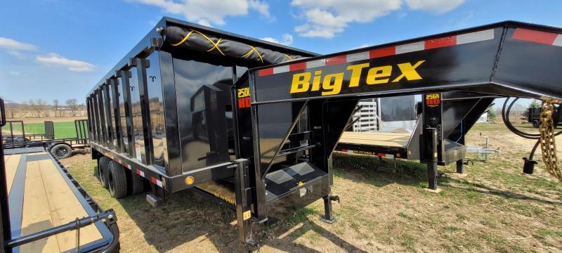 2021 Big Tex Trailers 25K 20ft Gooseneck Dump Trailer with ramps