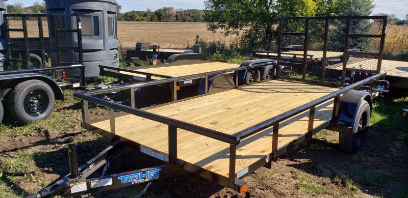 2022 Top Hat Trailers 14x77 Utility Trailer