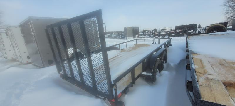 2020 Big Tex Trailers 60PI 16ft Utility Trailer with 4' Ramp Gate