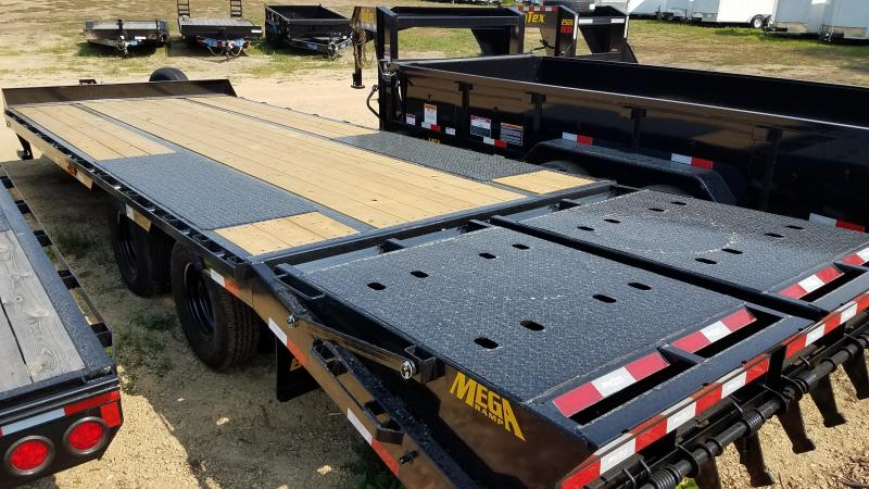 2021 Big Tex Trailers 25PH-20+5 Equipment Trailer with Mega Ramps