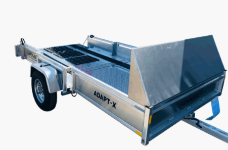 2021 Apogee Adapt-X 500 (5'x10') Utility Trailer Snowmobile Edition