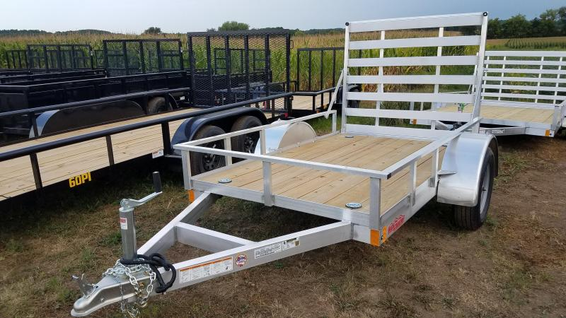 2021 High Country Aluminum 5x8 Utility Trailer