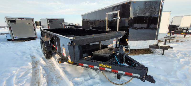 2021 Big Tex Trailers 14K 16ft. Dump Trailer with tarp and ramps