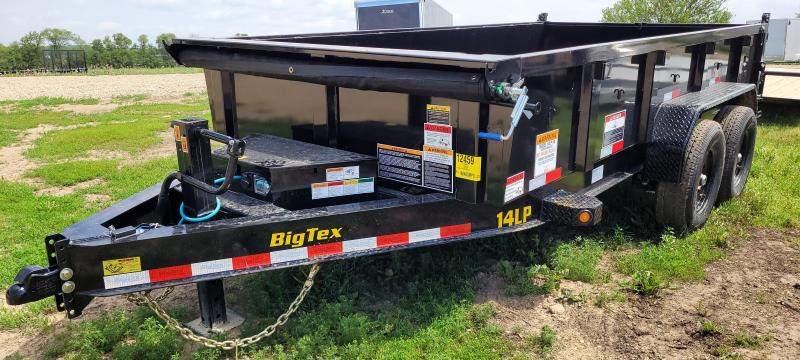 2022 Big Tex Trailers 83x14 14K Dump Trailer with 6ft Slide in Ramps