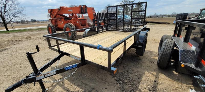 2021 Top Hat Trailers 10x77 DSP Utility Trailer